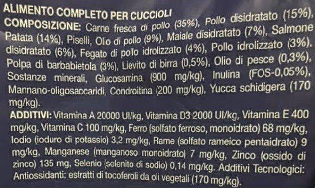 leggere l'etichetta dei pacchi di mangimi