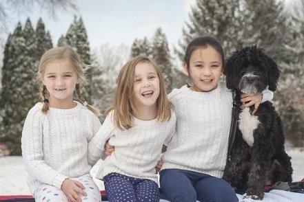 cane per bambini